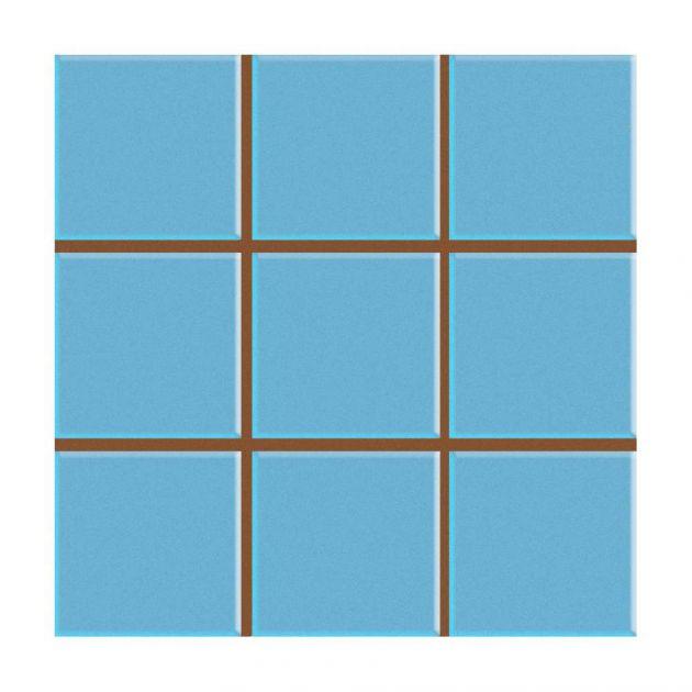 Revestimento Solto Ceral Pisos 20x20 - Multiplus Azul Piscina