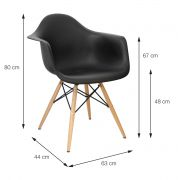 Cadeira Eames DKR Patch Work