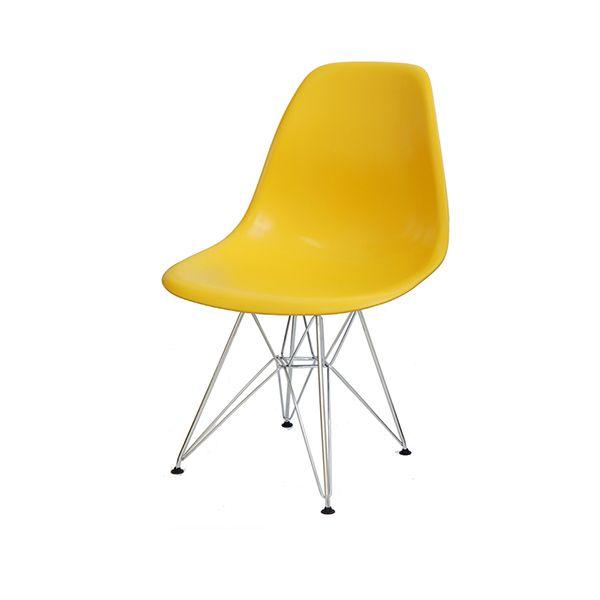 Cadeira em Polipropileno Base Metal