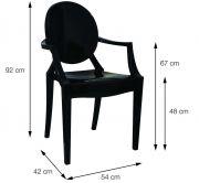 Cadeira Invisible com braço
