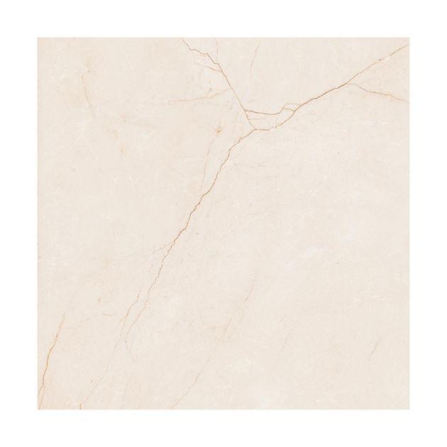 Porcelanato Retificado Villagres 71x71cm - Marfil Marmo Acetinado