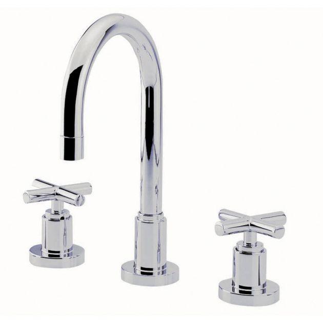 Misturador lavatório de mesa bica alta DN15 DUNA CLAS - Cromado - Deca