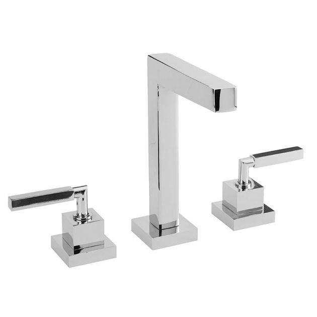Misturador lavatório de mesa bica alta DN15 QUADRATTA - Cromado - Deca