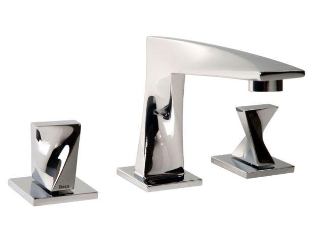 Misturador lavatório de mesa bica alta DN15 TWIST - Cromado - Deca