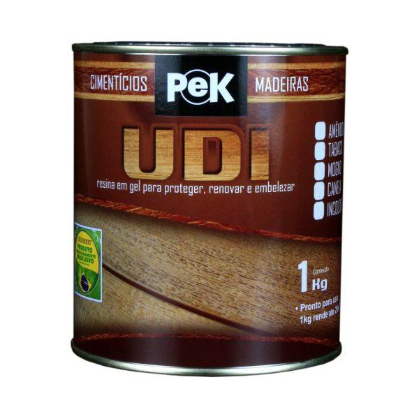 PeK UDI - Protege e embeleza madeiras rústicas ou revestimentos cimentícios que as imitam.